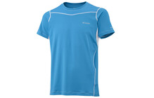 Columbia Men's Baselayer Lightweight SS Top compass blue